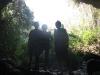 Entrada a la cueva del Indio en San Gil